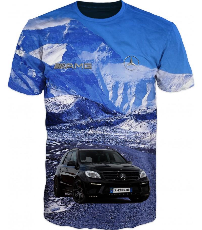мъжка тениска с мерцедес ML-350