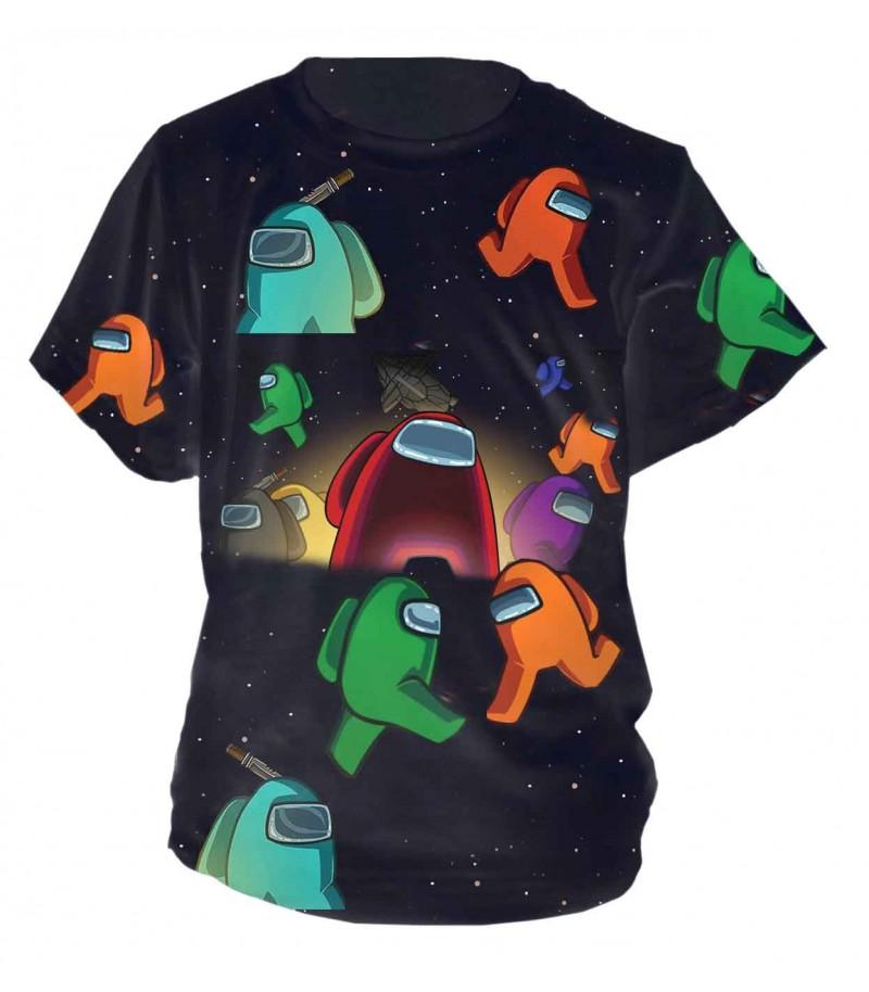 Забавна детска тениска - Among Us