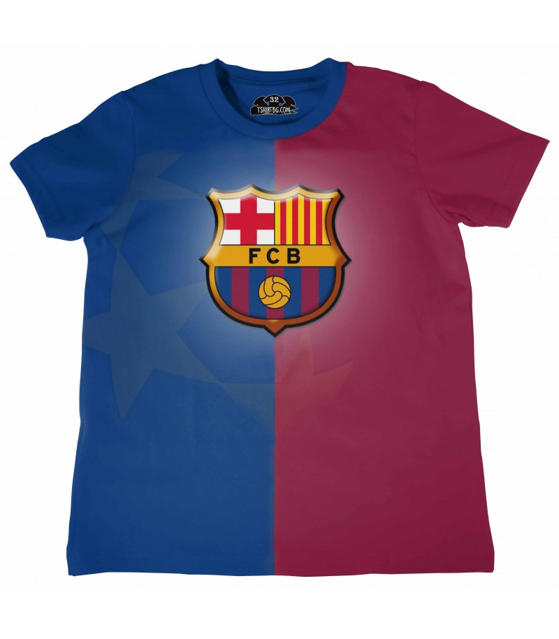 Детска футболна тениска Барселона