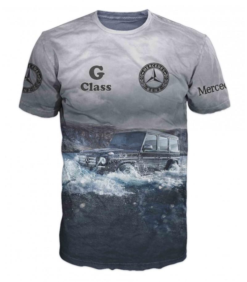 Тениска с джип Mercedes-G Class