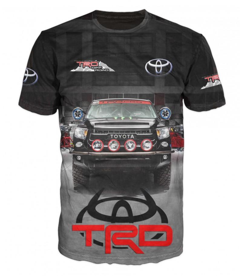 Тениска с джип TOYOTA PRO