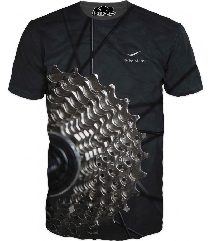 Тениска на колело - Байк Маниа
