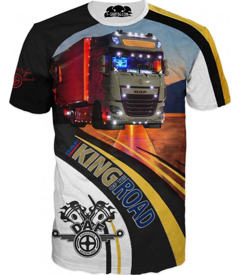 Тениска на камион ДАФ за фенове