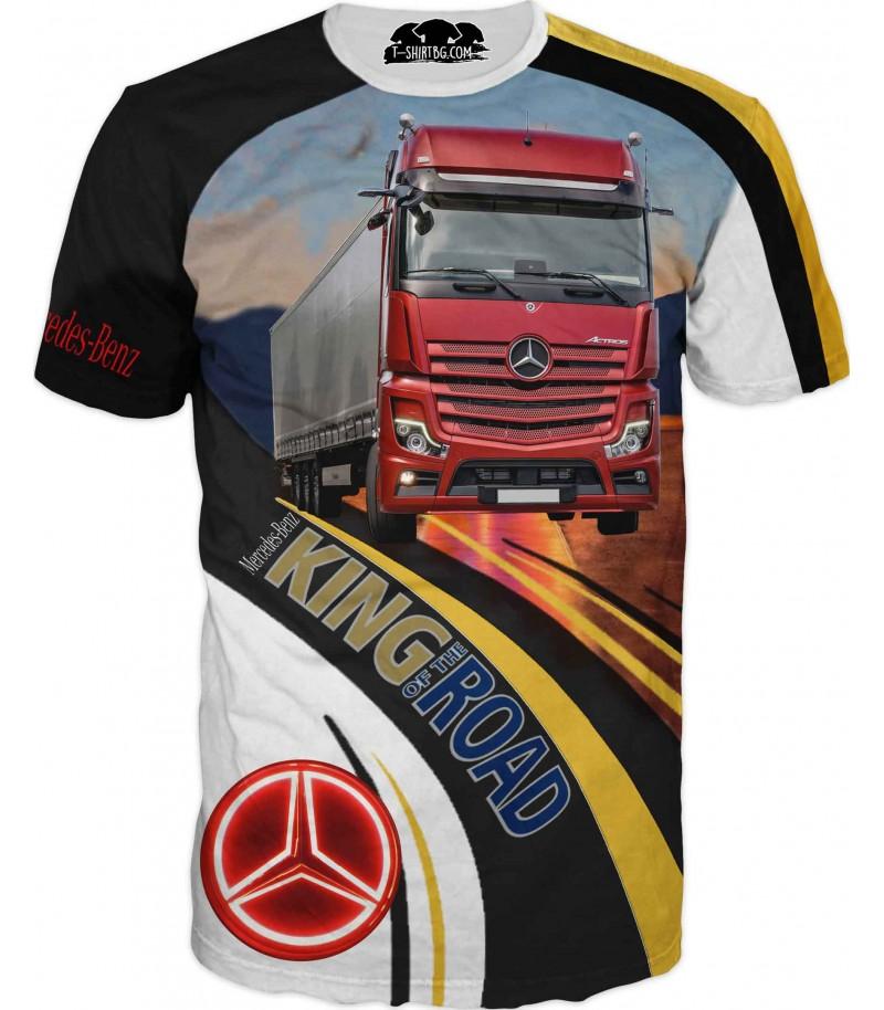 Тениска на камион Мерцедес за фенове