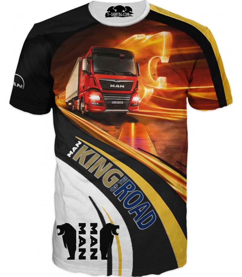 Тениска на камион МАН за фенове