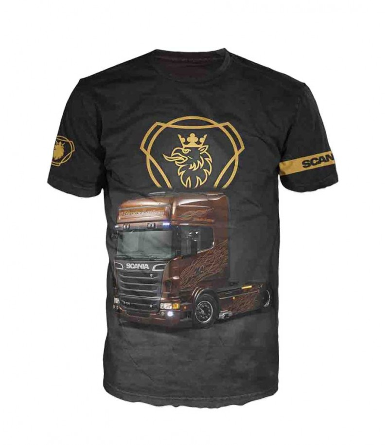 Тениска с камион SCANIA