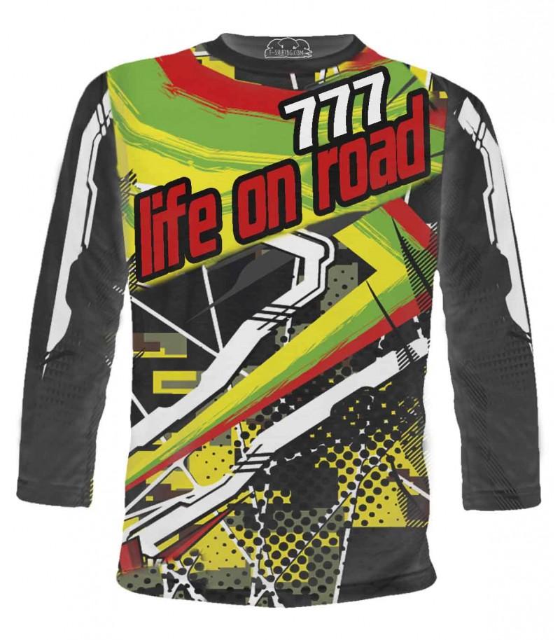 Тениска на моториста със щастливите числа