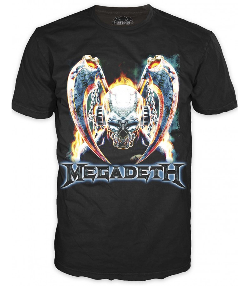 Фен тениска на Металика