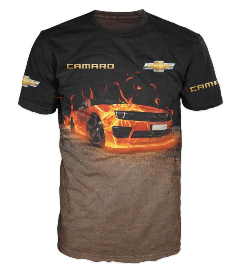 Мъжка тениска с SHEVROLET CAMARO