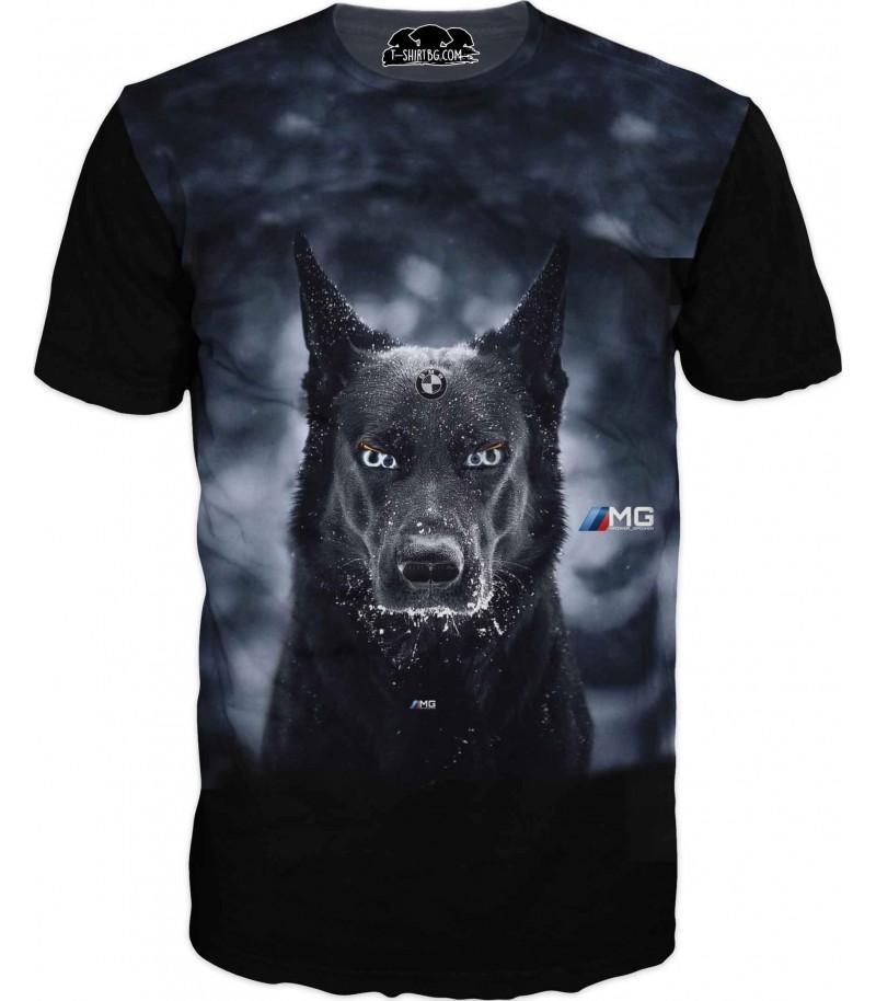 Тениска с БМВ - за ценители