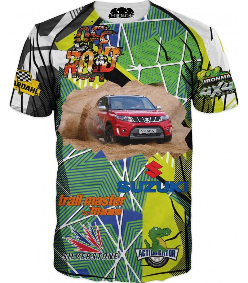 Автомобилна арт тениска - Сузуки Витара - къс ръкав