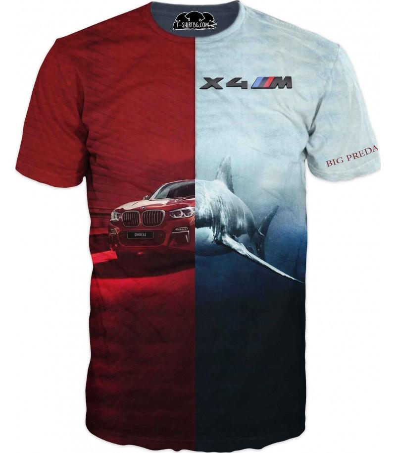 Автомобилна тениска с БМВ - Хищник
