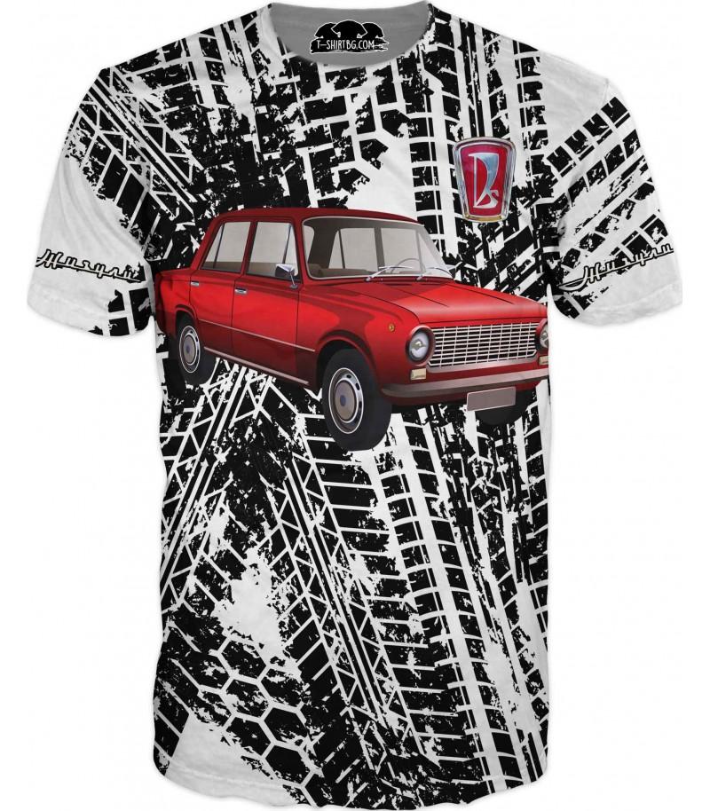 Автомобилна тениска с Жигули