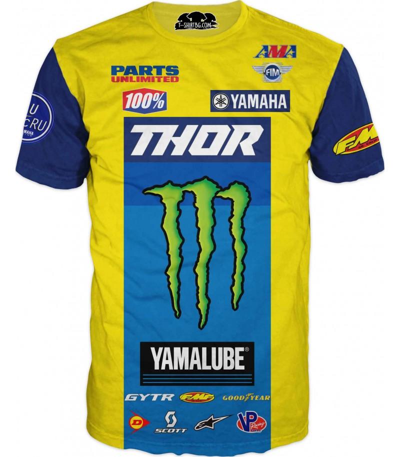 Тениска със спонсори - Тор и Монстер