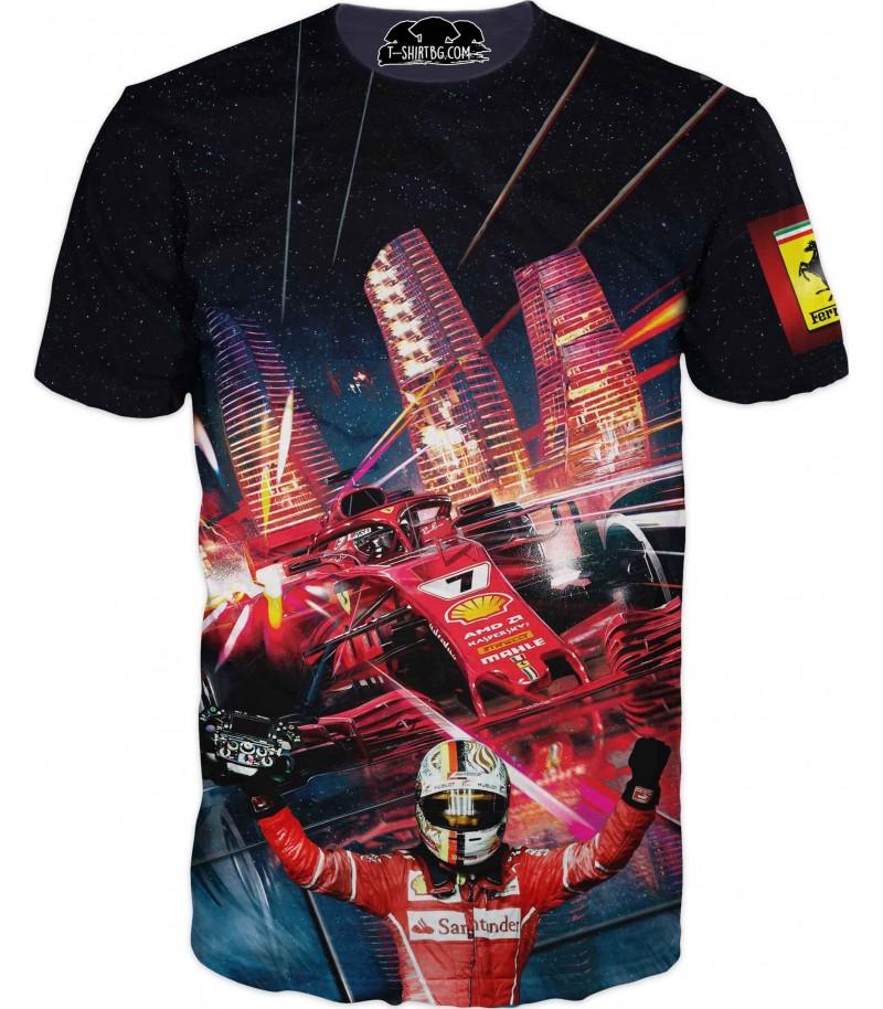 Тениска с Ферари - даку