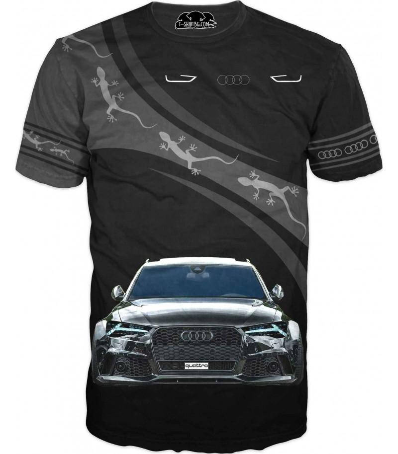 Автомобилна тениска на АУДИ RS 6