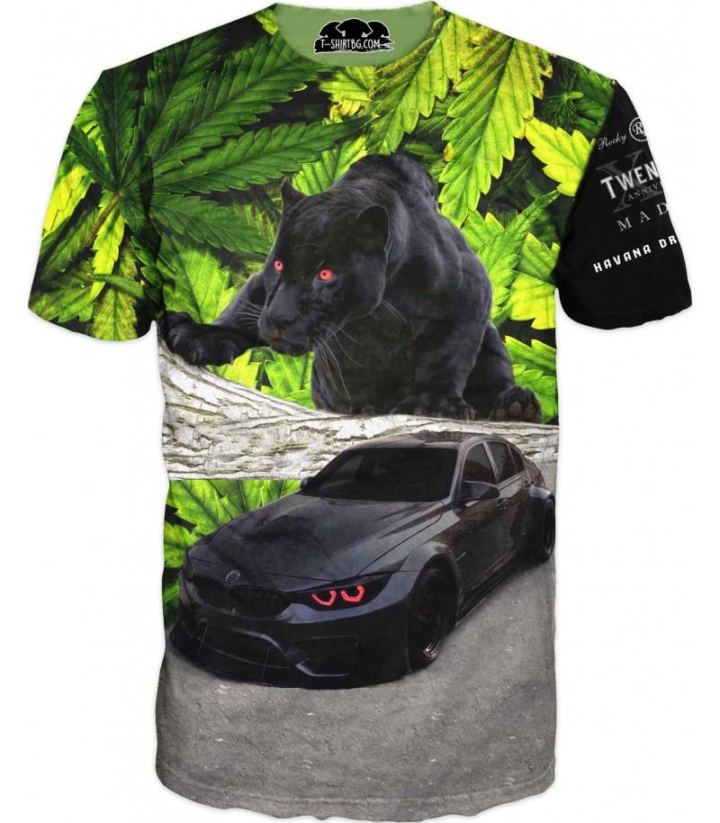 Фен тениска - БМВ с пантера