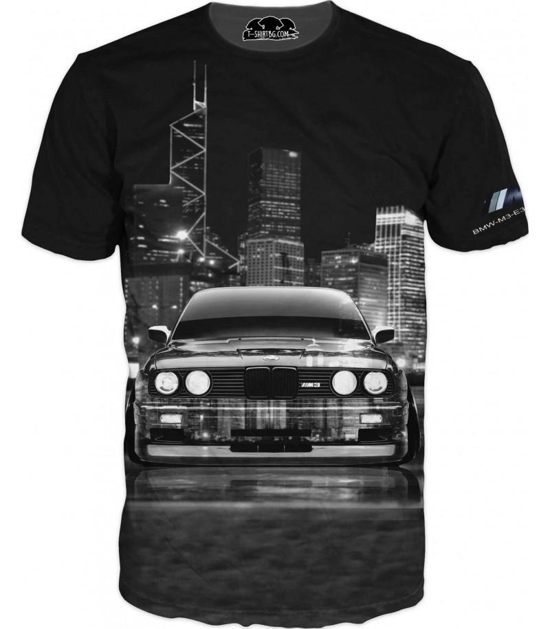 Тениска с класически модел на БМВ М3
