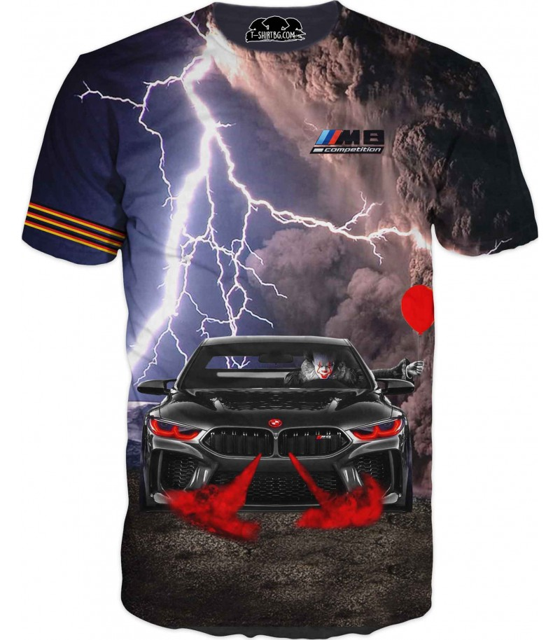 Фен тениска на БМВ М8