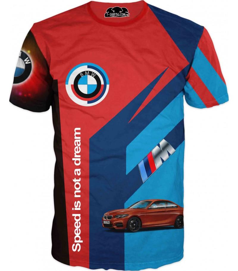 Фен тениска на БМВ - Скоростта не е мечта!