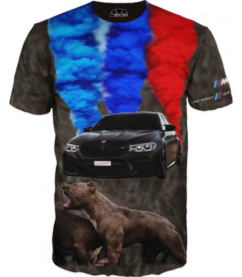 Тениска с БМВ - една порода