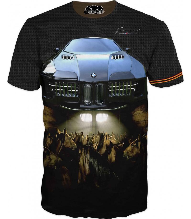 Тениска на БМВ - конски сили