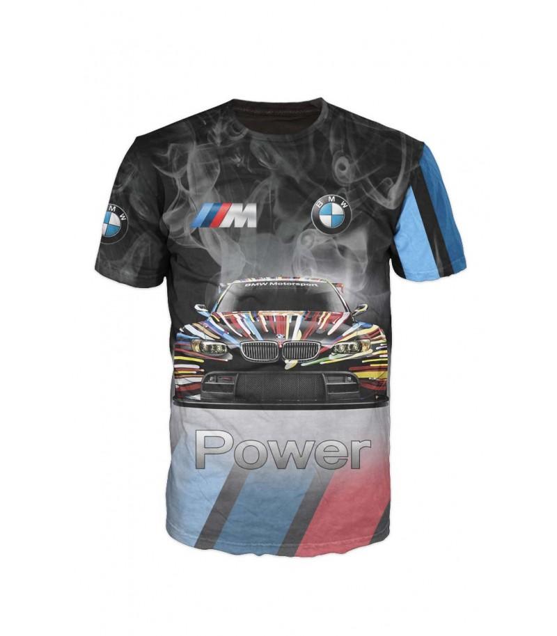 Мъжка тениска с  BMW