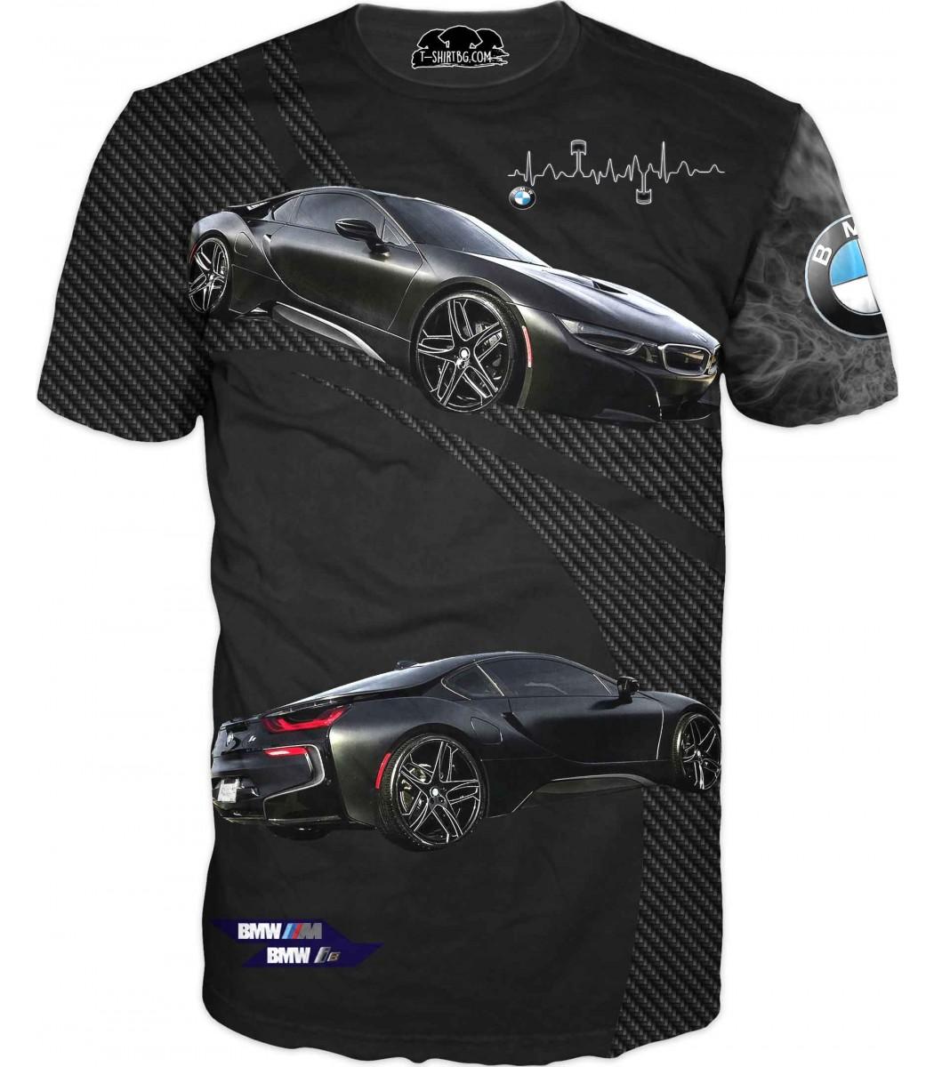 Автомобилна тениска - БМВ i8