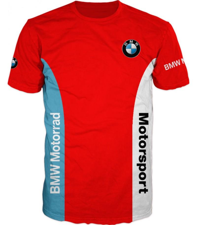 Тениска БМВ - червена
