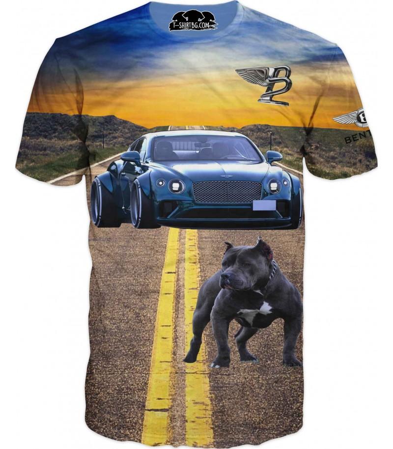 Тениска - Бентли на път
