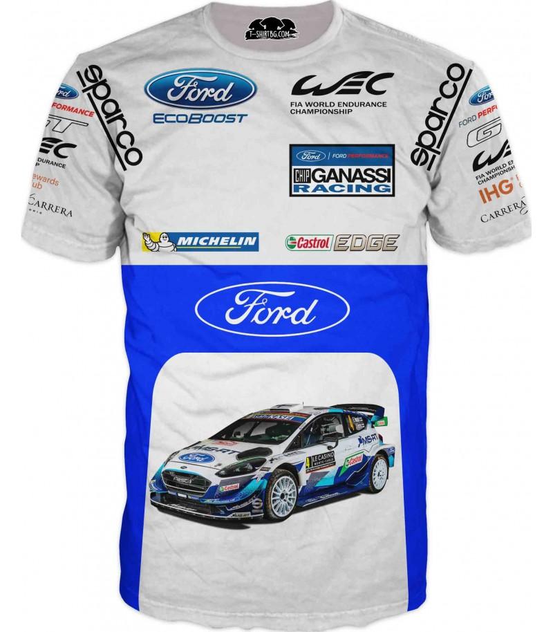 Състезателна тениска с ФОРД - WRC