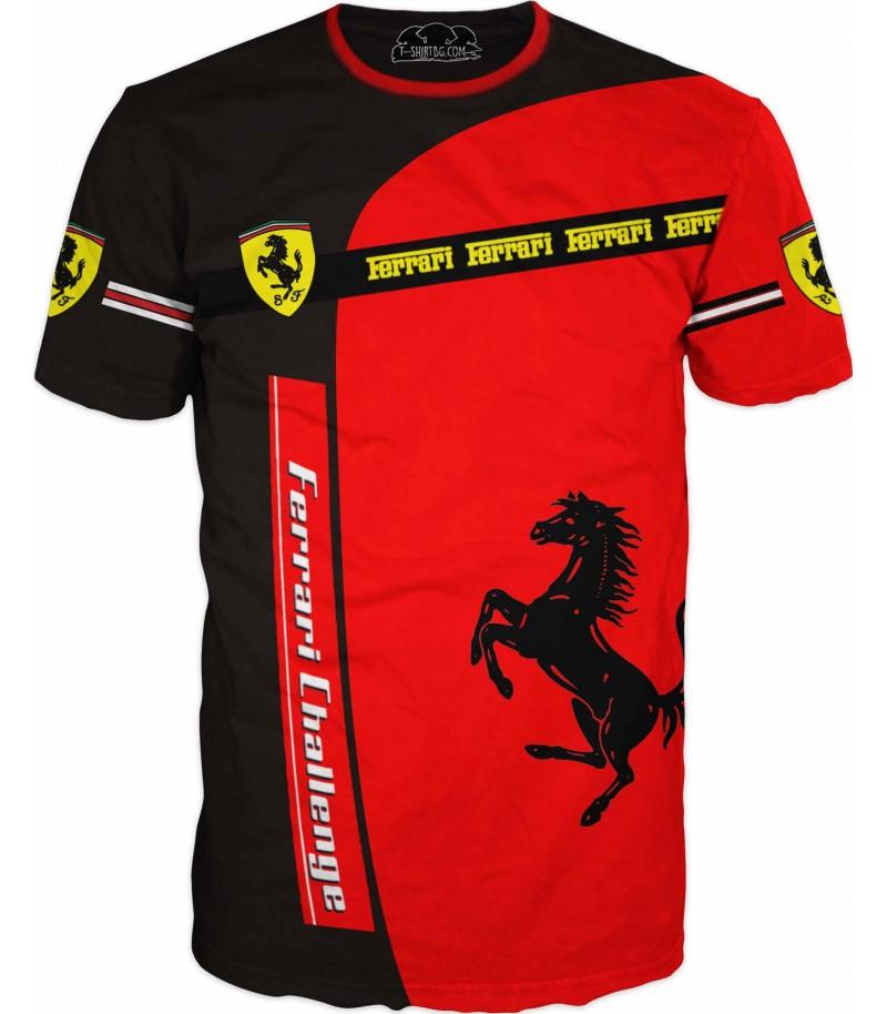 Удивителна тениска с Ферари