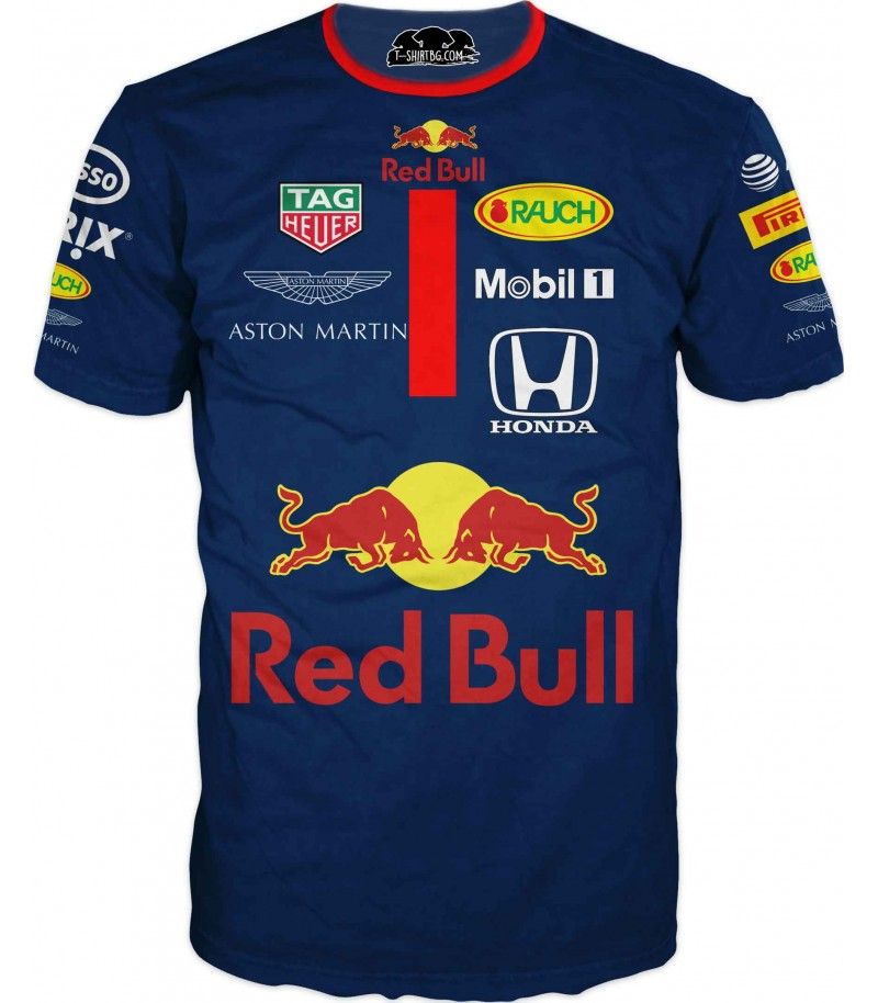 Автомобилна тениска за състезател - Хонда