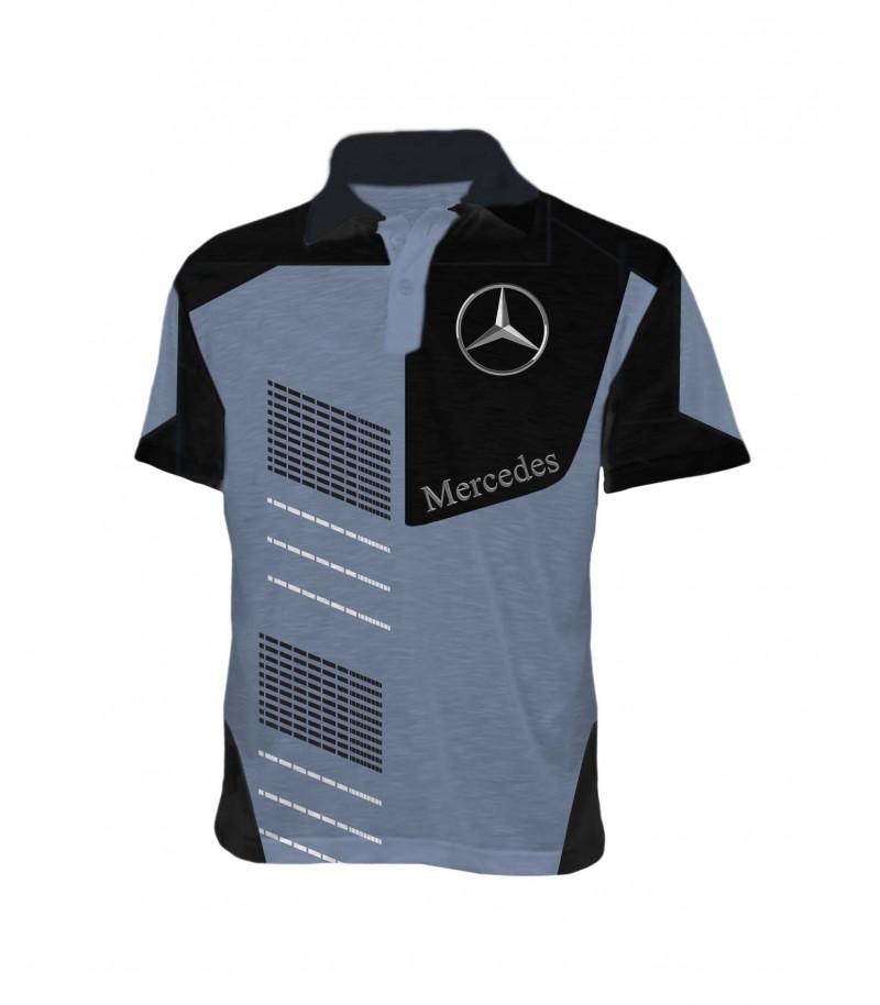 Фен тениска - Мерцедес - яка