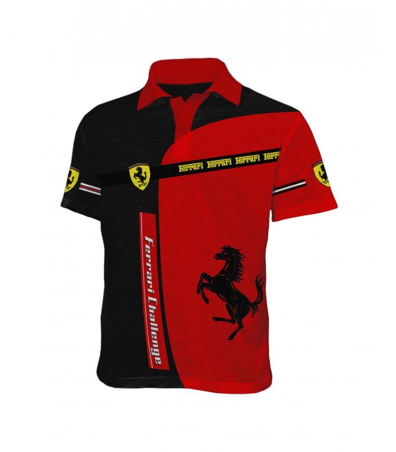 Удивителна фен тениска с Ферари - яка