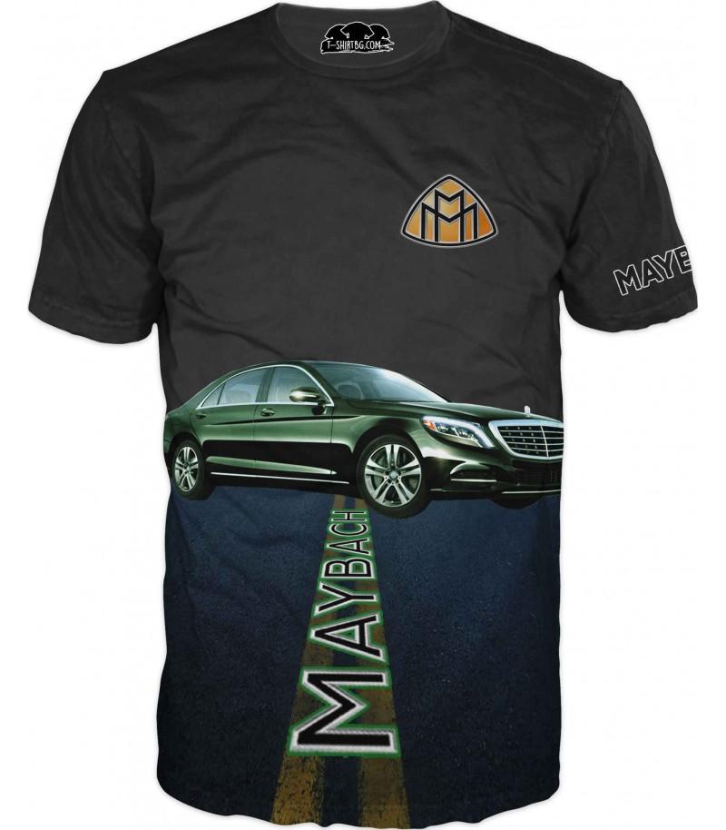 Тениска за фенове на Мерцедес Майбах