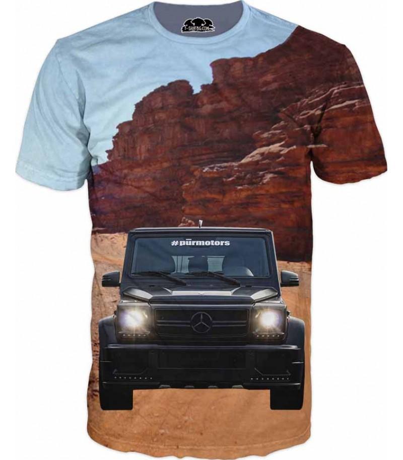 Мъжка тениска с Mercedes