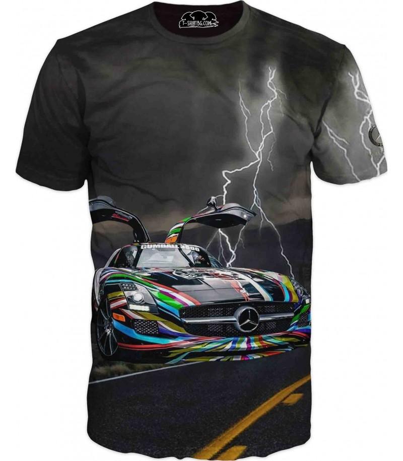 Страхотна тениска - Мерцедес на пътя