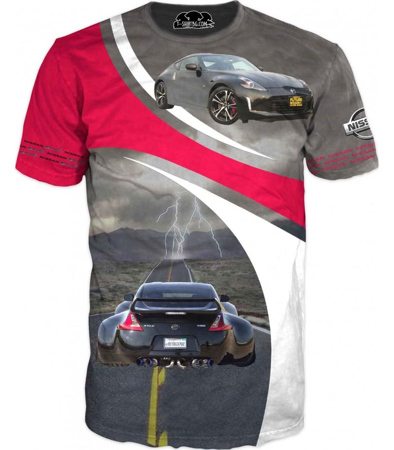 Автомобилна тениска - Нисан 370Z