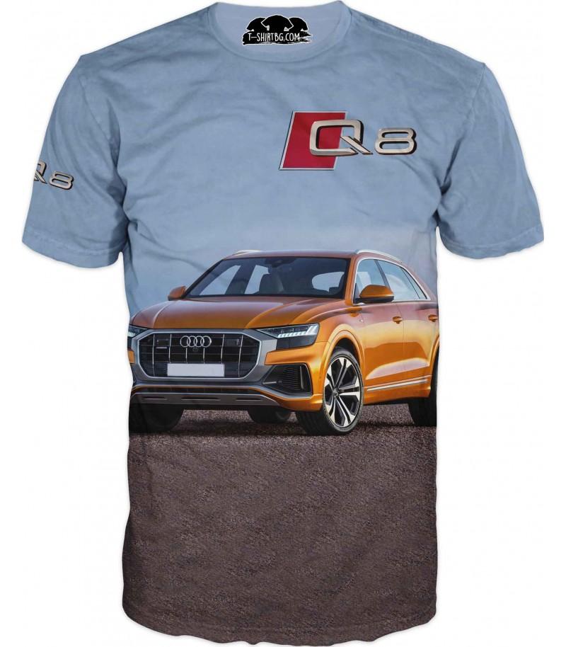 Автомобилна тениска на AUDI Q8