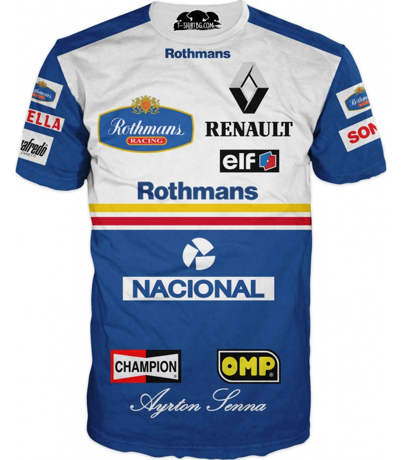 Автомобилна тениска за състезател - Рено