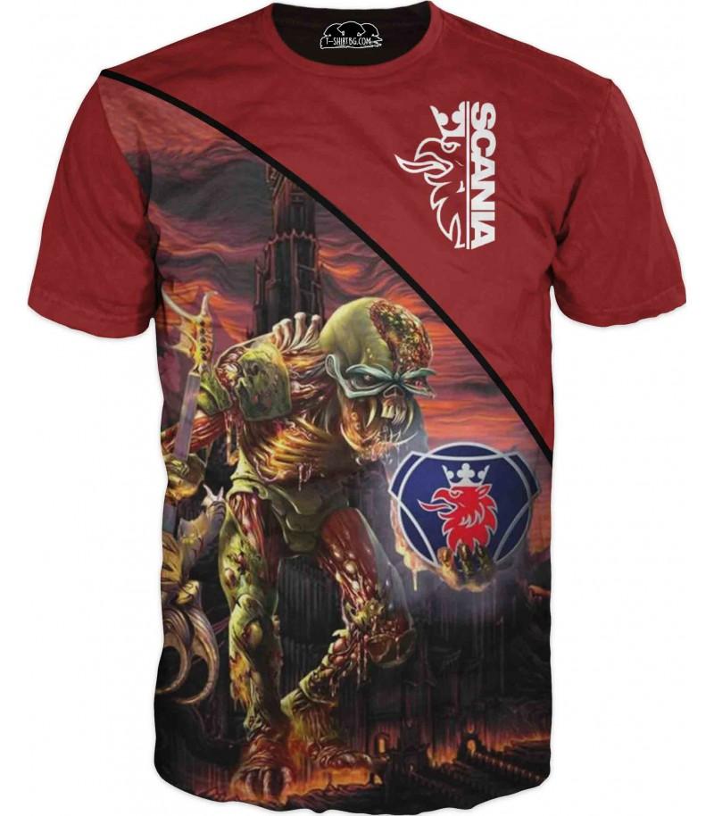 Тениска на камион Сканиа