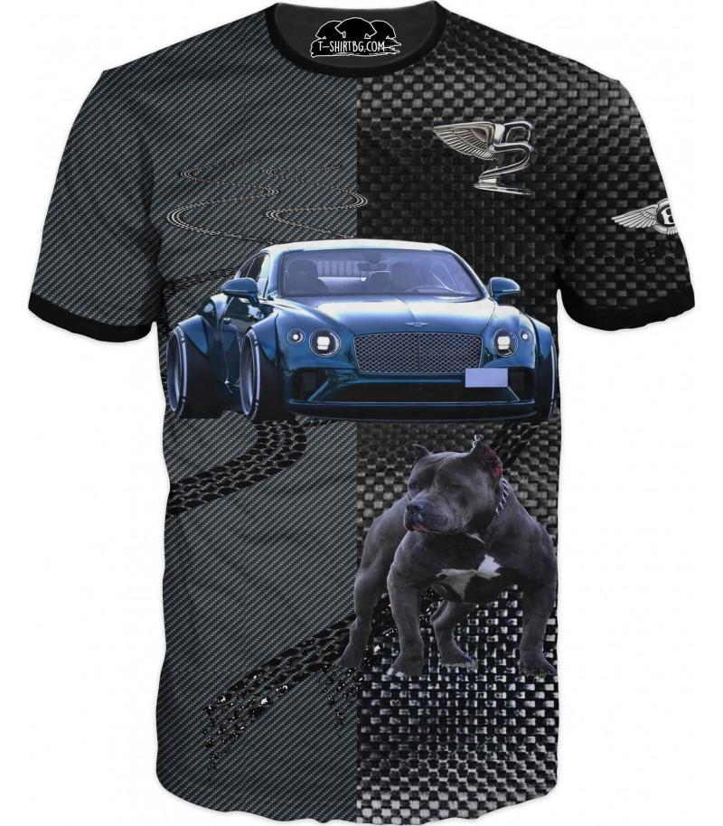 Тениска с Бентли за ценители