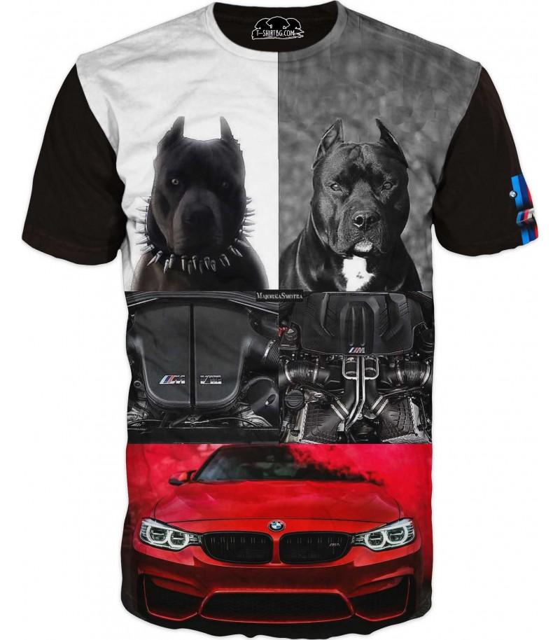 Тениска - двигател - БМВ фенове