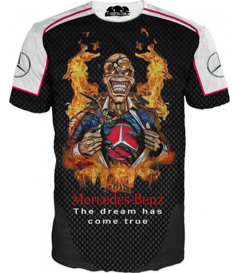 Страхотна тениска с Мерцедес - постигната мечта