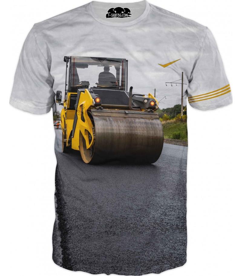 Тениска с валяк