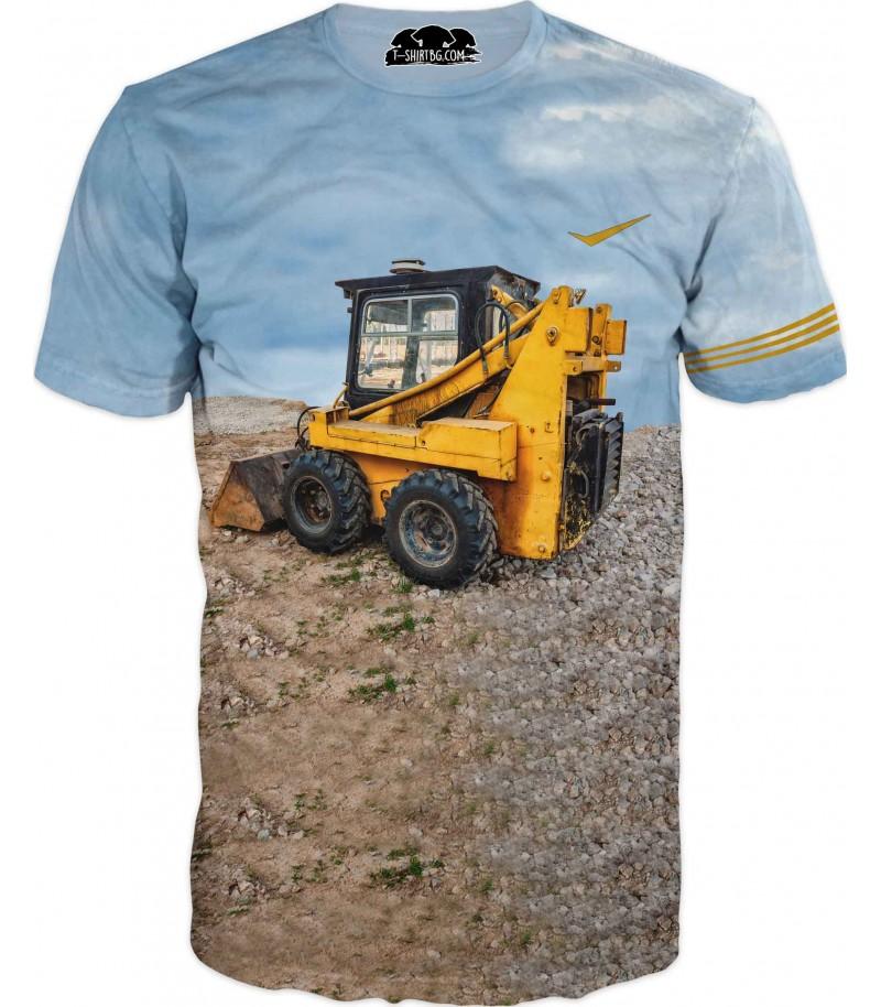 Тениска на багер
