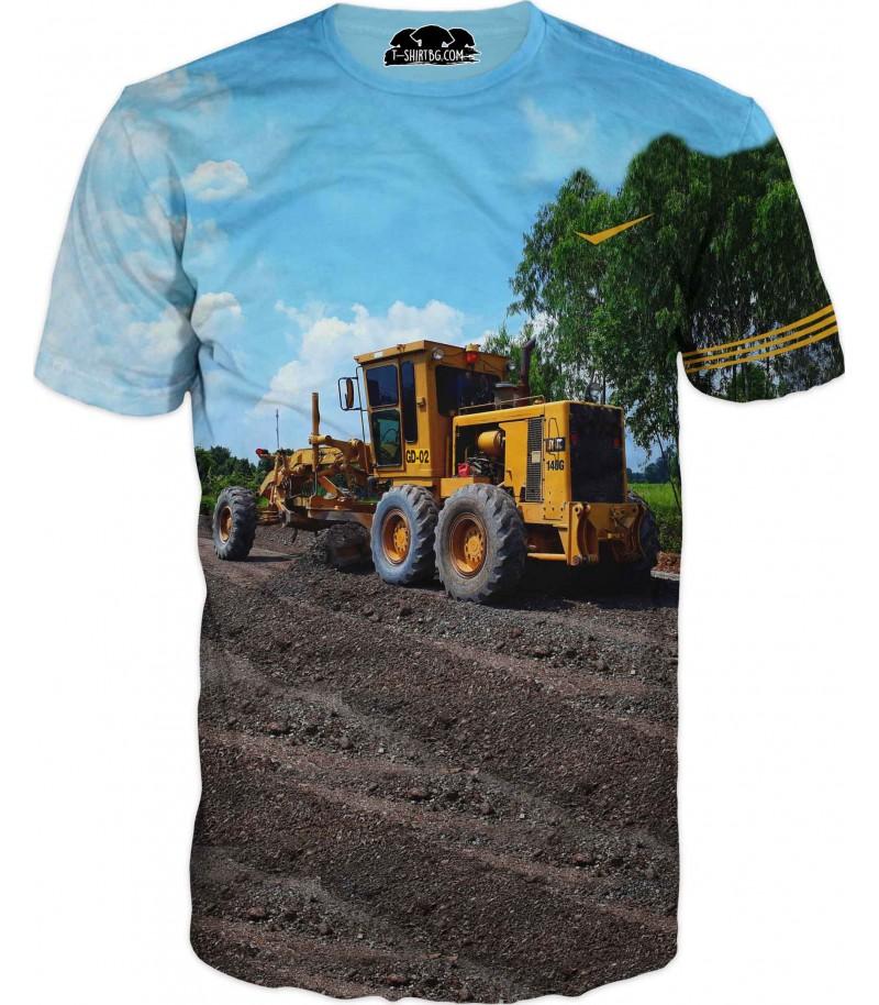 Тениска на комбайна