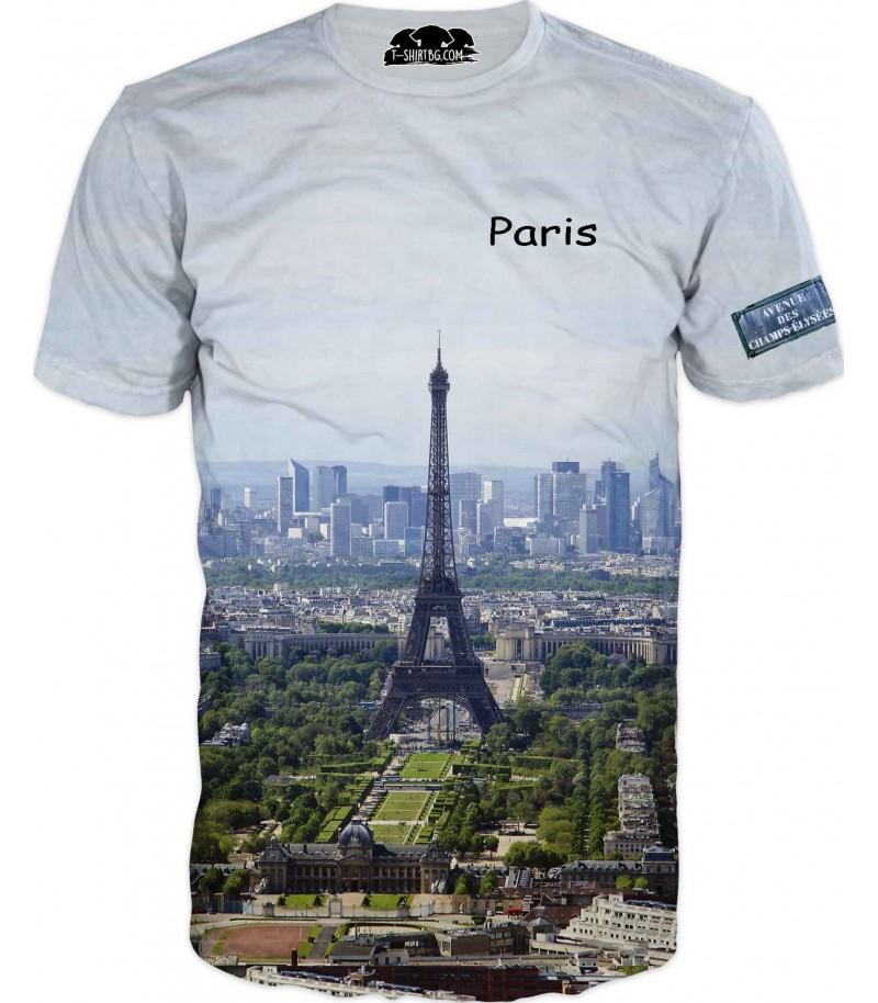 Тениска на Париж - Айфеловата кула