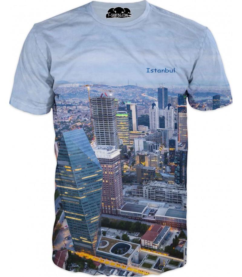 Тениска - Истанбул - отвисоко